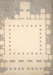 Ground Plan of Cave 4, Ajanta